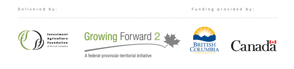 delivered by growing forward and investment agriculture foundation and funding provided by british columbia and canada